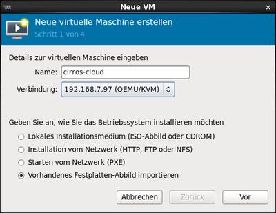 Neue VM 010