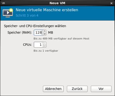 Neue VM 013